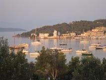 Griekse Jachthaven Stock Fotografie
