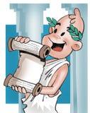 Griekse jongen Vector Illustratie