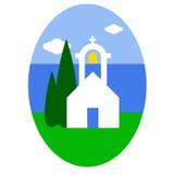 Griekse kerk Royalty-vrije Stock Fotografie