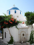 Griekse kerk Stock Fotografie