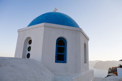 Griekse kerk Royalty-vrije Stock Foto's