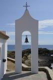 Griekse kerktoren Royalty-vrije Stock Afbeelding