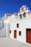 Griekse klokketoren Stock Fotografie