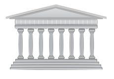 Griekse koepel vectorillustratie Stock Foto's