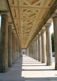 Griekse kolommen stock foto's