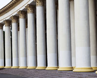 Griekse kolommen Royalty-vrije Stock Afbeelding