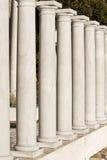 Griekse kolommenreplica's Royalty-vrije Stock Foto