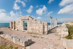 Griekse Kolonie Stock Foto's