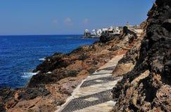 Griekse kust Stock Fotografie