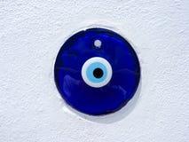 Griekse kwade oog gelukkige charme royalty-vrije stock afbeeldingen