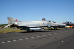 Griekse Luchtmacht F-4 Spookvechtersstraal Stock Afbeelding
