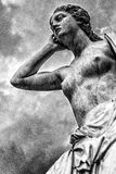 Griekse mythologie: Andromache stock foto's