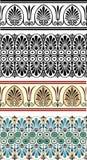 Griekse ornamenten Royalty-vrije Stock Foto