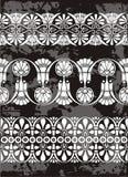 Griekse ornamenten royalty-vrije illustratie