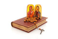 Griekse orthodoxe godsdienst stock foto's
