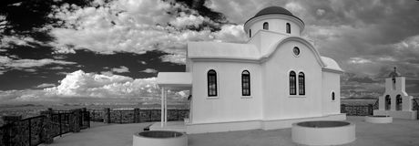 Griekse orthodoxe kapel Stock Afbeelding