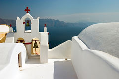 Griekse Orthodoxe Kerk stock afbeelding