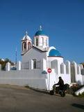Griekse Orthodoxe Kerk Royalty-vrije Stock Foto's