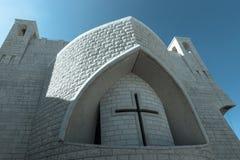 Griekse Orthodoxe Kerk van St John Doopsgezind Stock Afbeelding