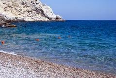 Griekse overzees stock fotografie