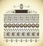 Griekse patronen Royalty-vrije Stock Afbeelding