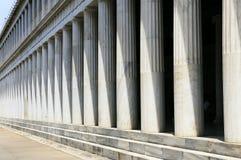 Griekse Pijlers, Athene Royalty-vrije Stock Foto