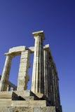 Griekse ruïnes Stock Afbeeldingen
