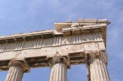 Griekse ruïnes Stock Foto
