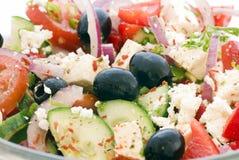 Griekse Salade Royalty-vrije Stock Fotografie