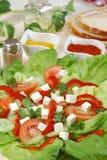 Griekse salade Stock Foto