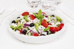 Griekse Salade Royalty-vrije Stock Afbeeldingen