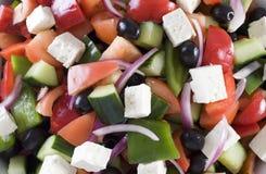 Griekse Salade Royalty-vrije Stock Foto's