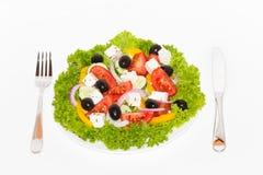Griekse Salade Stock Afbeelding