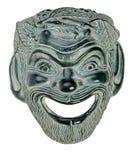 Griekse SATYR van het Masker van het Theater Stock Afbeeldingen
