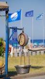 Griekse schalen Royalty-vrije Stock Foto