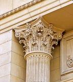 Griekse stijlpijler Royalty-vrije Stock Afbeelding