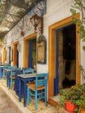 Griekse taverna Royalty-vrije Stock Foto's