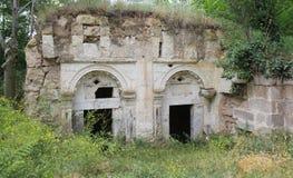 Griekse toiletten Stock Foto's