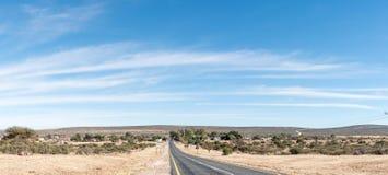 Griekwastad看法,北开普省省的一个镇 免版税库存照片