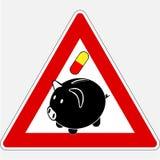 Griep 10 van varkens Stock Foto