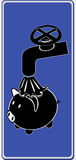 Griep 3 van varkens Royalty-vrije Stock Foto