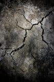Grieta en el cemento Fotos de archivo