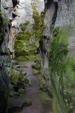 Grieta en la tierra Imagen de archivo libre de regalías