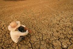 Grieta global de la crisis Imagenes de archivo