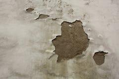Una grieta en una pared Imagen de archivo