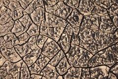 Grietas del suelo Fotos de archivo libres de regalías