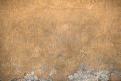 Grietas en la pared Foto de archivo libre de regalías