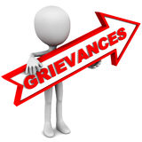 Grievances Royalty Free Stock Photo