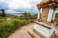 Grieve Memorial at Cap Park Sydney Australia stock image