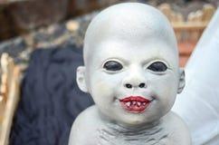 Griezelig de zombiekind van Halloween Stock Fotografie